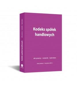 Kodeks spółek handlowych:...
