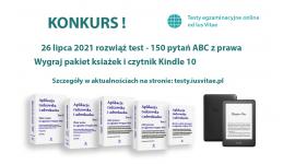 Konkurs z okazji inauguracji serwisu: testy.iusvitae.pl